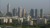 Aerial skyline, Tel aviv, Israel