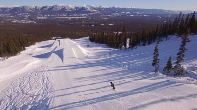 Aerial Snowboard Trick