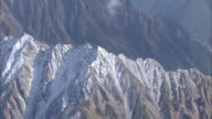 Aerial Snowcapped Mt. Nishihotaka