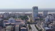 Aerial. Sule Pagode in Yangon, Myanmar