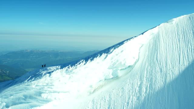 Aerial Switzerland Monch outdoor tourism life summit travel