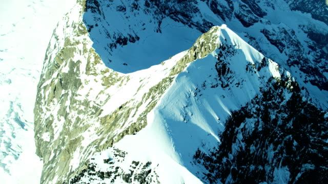 Aerial Switzerland valley sun flare vacation tourism travel