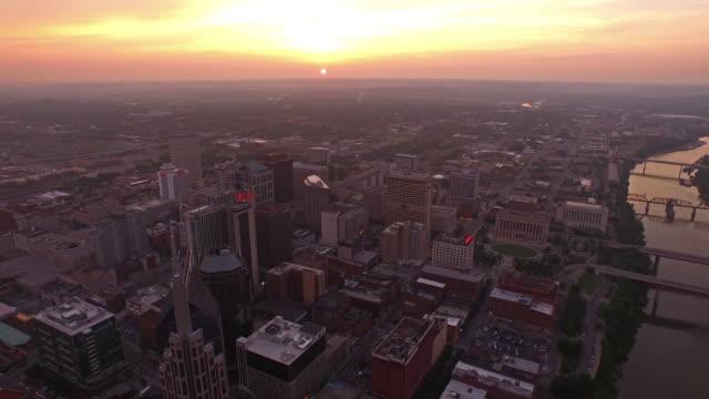Vista aerea del Tennessee Nashville