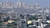 Aerial the Gaza Strip, Gaza, Israel