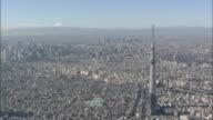 Aerial Tokyo Skytree