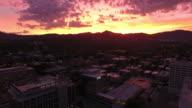 Aerial Utah Salt Lake City