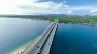 Aerial video Bridge Thailand