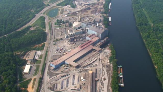 Aerial Video Stahlwerk