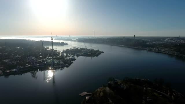 Aerial View Djurgården Stockholm