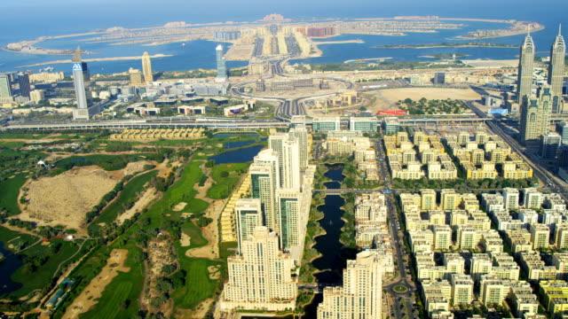 Aerial view Golf Towers, Dubai