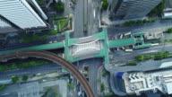Aerial View in Bangkok City