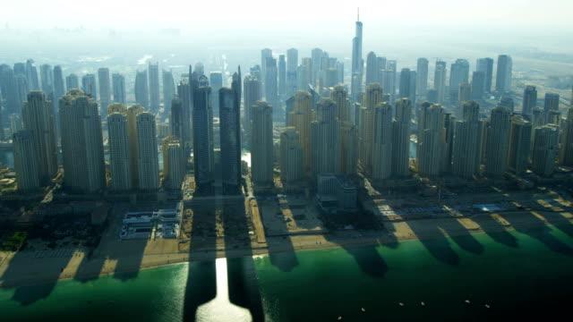 Aerial view Jumeirah Beach, Dubai