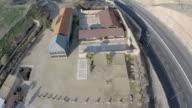 Aerial view, Mosaics at the Good Samaritan Museum in Israel