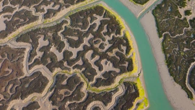 Aerial view of Bahía de Cádiz Natural Park