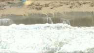 KTLA Aerial View of Beach Erosion After Storm