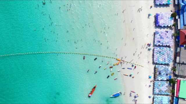 Aerial View of Beach in Thailand