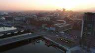 Aerial view of Belfast Northern Ireland
