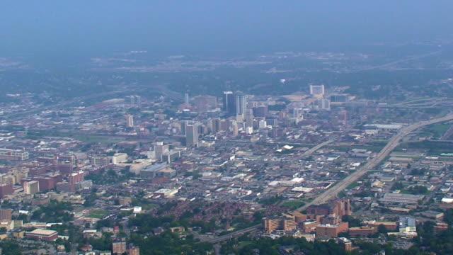 Luftbild von Birmingham