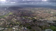 Aerial view of city of Glasgow from east / Glasgow, Scotland