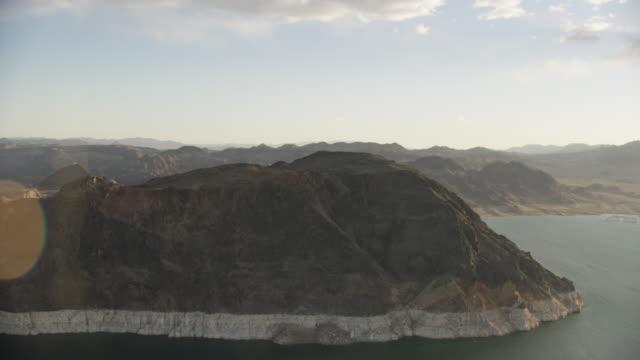 Aerial View Of Colorado River Around The Hoover Dam