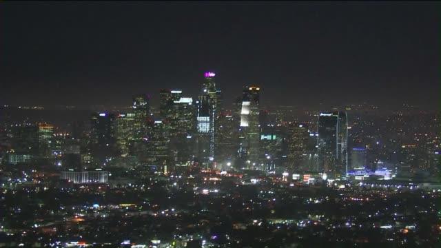 los angeles skyline view - photo #41