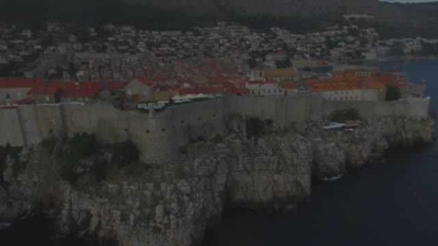 Aerial view of Dubrovnik