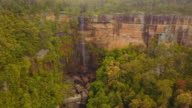 4K Aerial view of Fitzroy Falls, New South Wales, Australia
