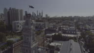 Aerial view of Fitzroy Town Hall, Melbourne Victoria Australia