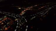 Flygfoto över Freeway