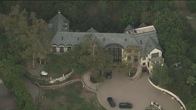 KTLA Aerial View of Gene Simmons Home in Los Angeles