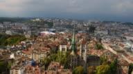 Luftbild von Genf in der Schweiz