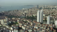 Aerial View Of Istanbul With Vodafone Arena