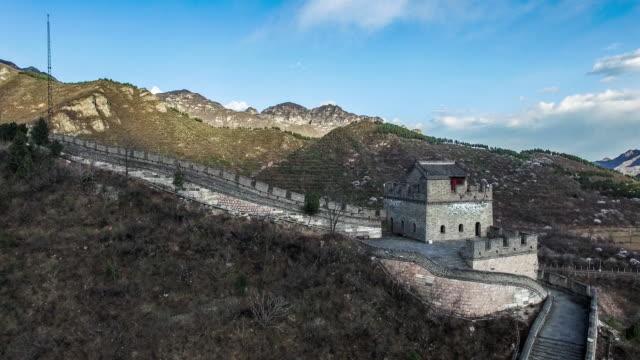 Aerial view of Juyongguan Great Wall, Beijing, Beijing