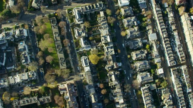 Aerial view of Kensington UK