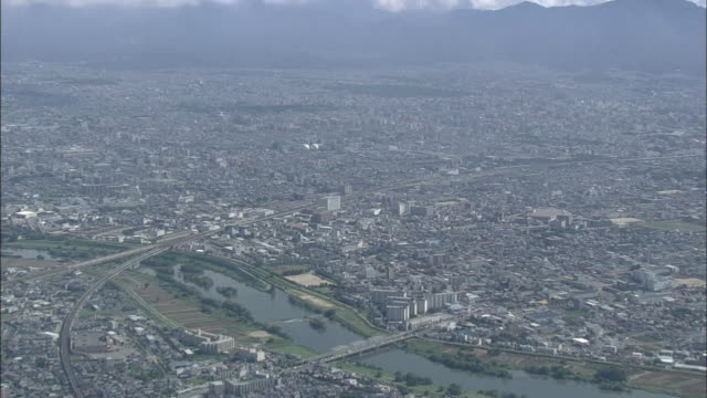 Aerial View Of Kyoto