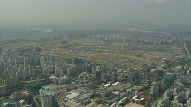 Aerial View of Magok-dong(urban development district) Construction Site