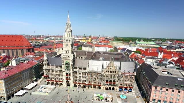 Luftbild von München
