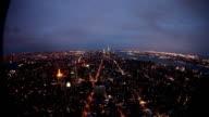 Luftbild von New York Midtown skyline