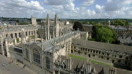 Aerial view of Oxford University featuring All Souls College