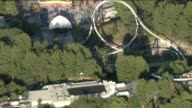 KTLA Aerial View Of Six Flags Magic Mountain in Valencia
