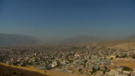 Aerial view of the city of Soran in Iraqi Kurdistan