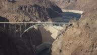 Aerial View Of The Hoover Dam And Mike O'Callaghan–Pat Tillman Memorial Bridge