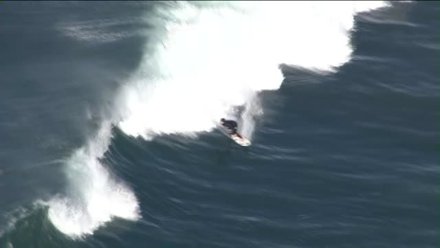 KTLA Aerial View of The Malibu Surf