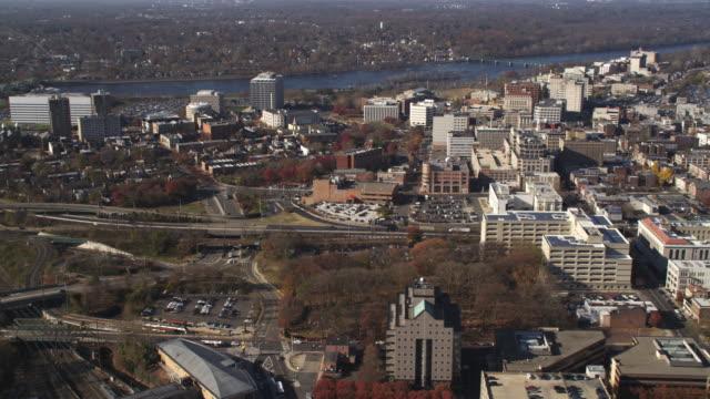 Aerial view of Trenton, NJ. Shot in 2011.