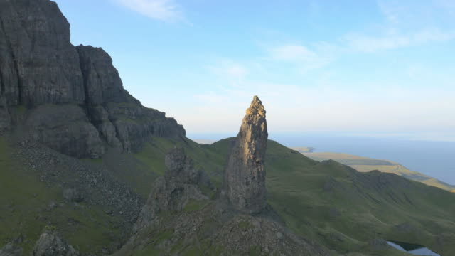 Aerial view of Trotternish Ridge by Old Man