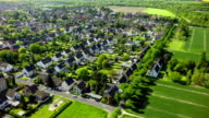 Aerial view on Village in Germany