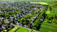 Veduta aerea sul villaggio in Germania