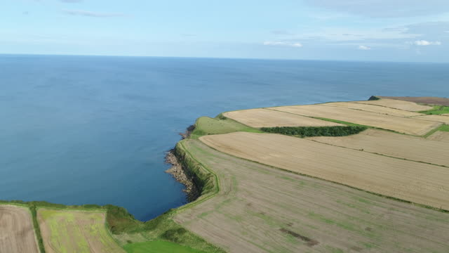 Aerial View Over Cleveland Way