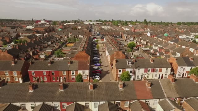 Aerial view over north Lincolnshire
