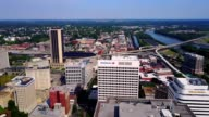 Aerial View Reveal of Downtown Richmond